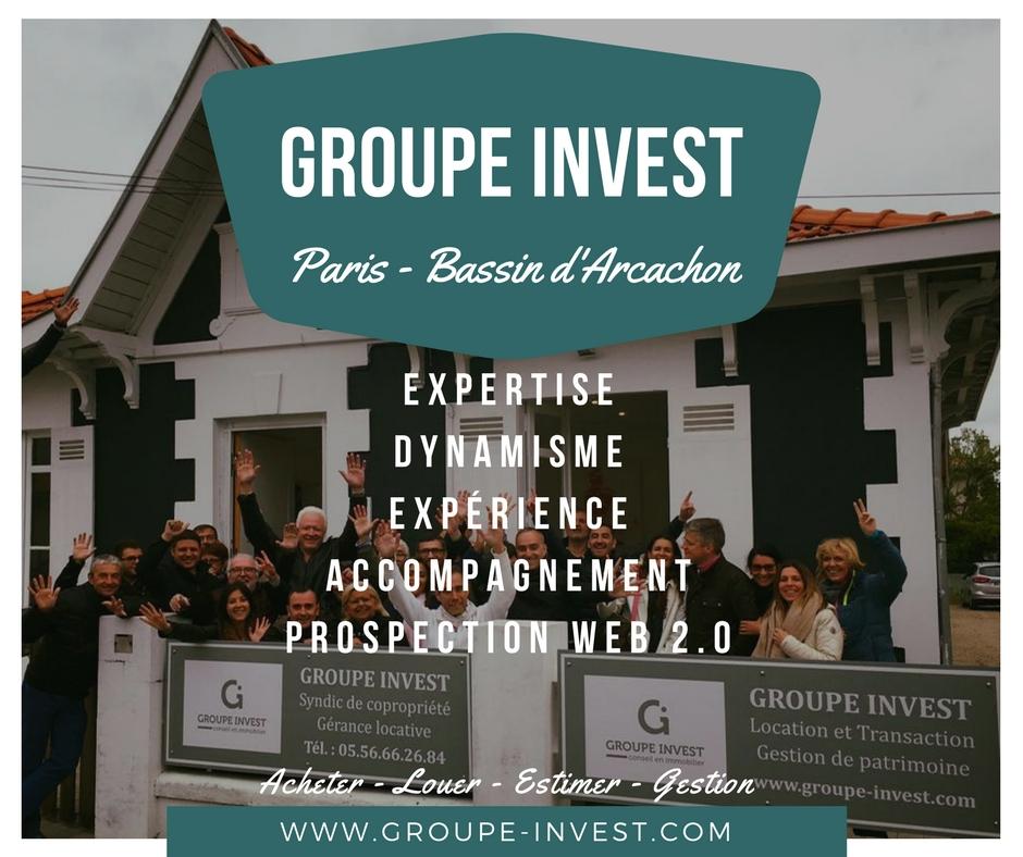 Choisissez l'agence immobilière de la Teste de Buch Groupe INVEST