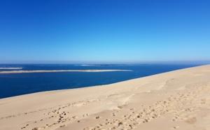 Dune du Pilat et banc d'arguin en hiver
