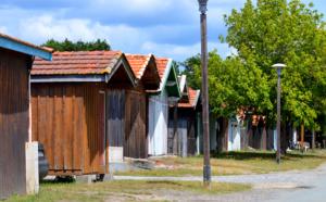 Le port des Tuiles, plus anciens sites chrétiens du Bassin d' Arcachon
