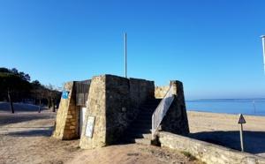 A quoi peut servir ce monument en pierre devant la plage Pereire ?