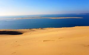 Dune, arguin, et au loin ...