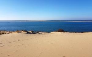 Dune du Pilat et vue sur le banc d'Arguin