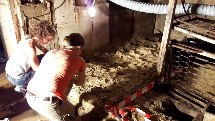 Fouilles archéologiques sur un bunker à Arcachon