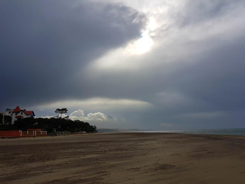 Avis de tempête sur le Bassin d'Arcachon
