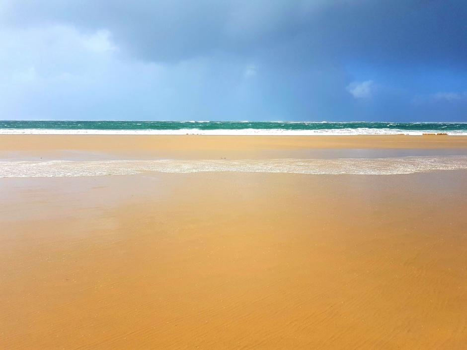 plage de la lagune