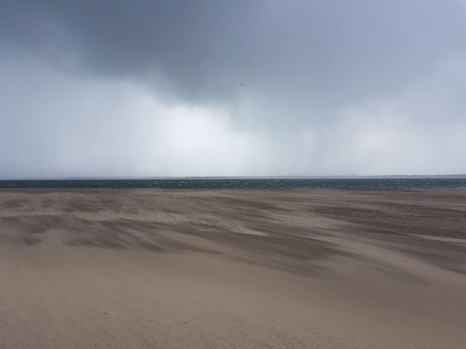 Arcachon, sable et vent