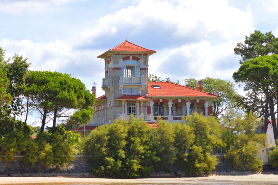 La villa Tosca de Taussat