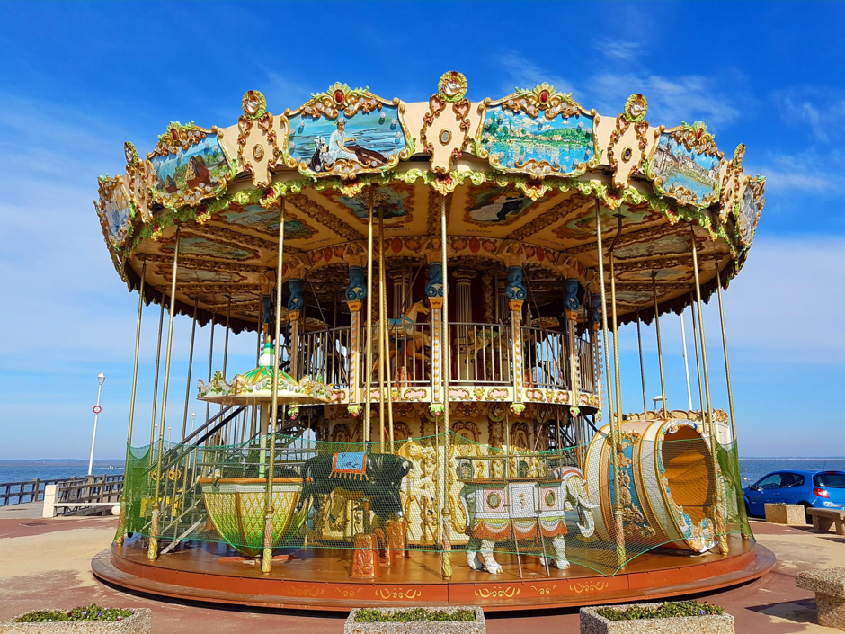Le carrousel d'Arcachon attend ses enfants
