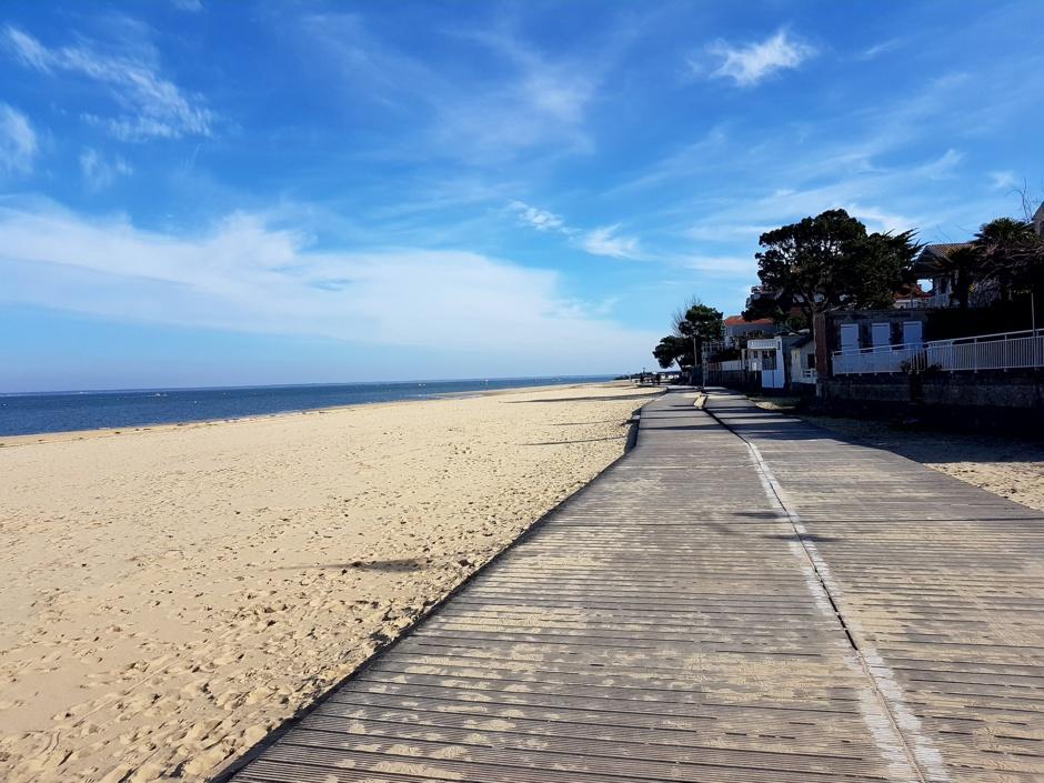 Arcachon et sa plage
