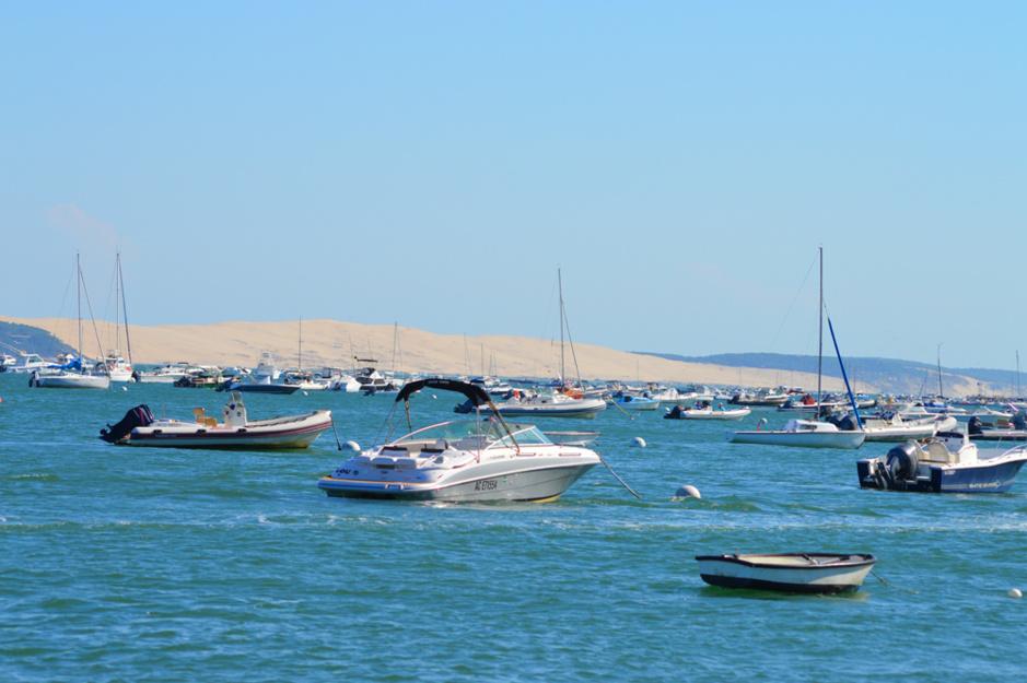 La dune du Pilat depuis La Vigne