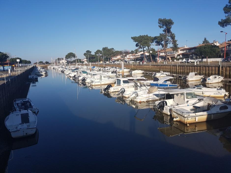 Port de la Hume à Gujan