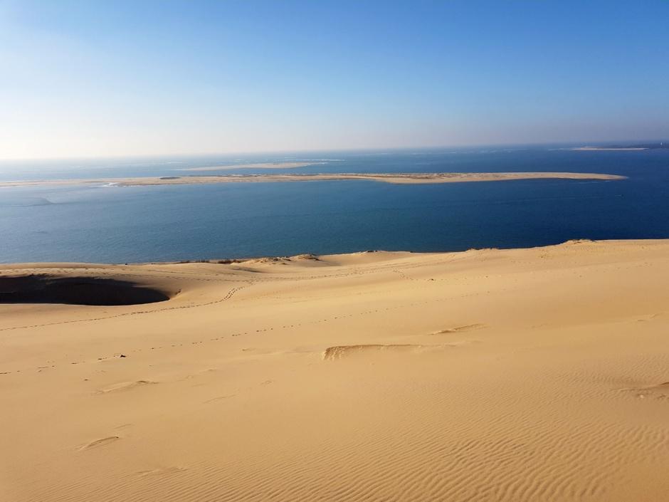 Dune du Pilat et Arguin par temps clair