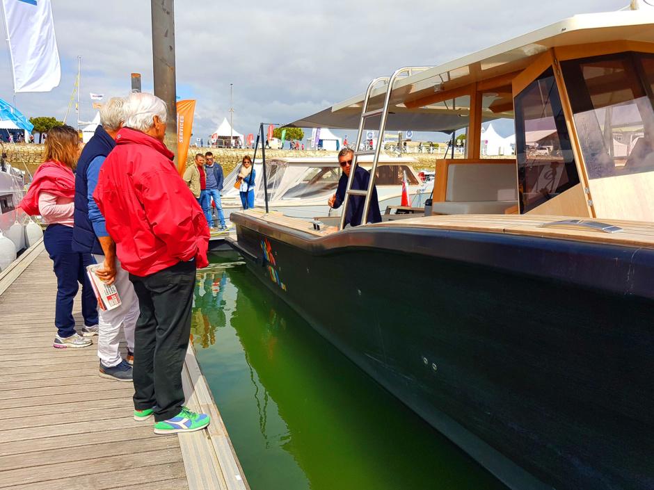 Vous avez été nombreux à être venu voir ce bateau Dubourdieu