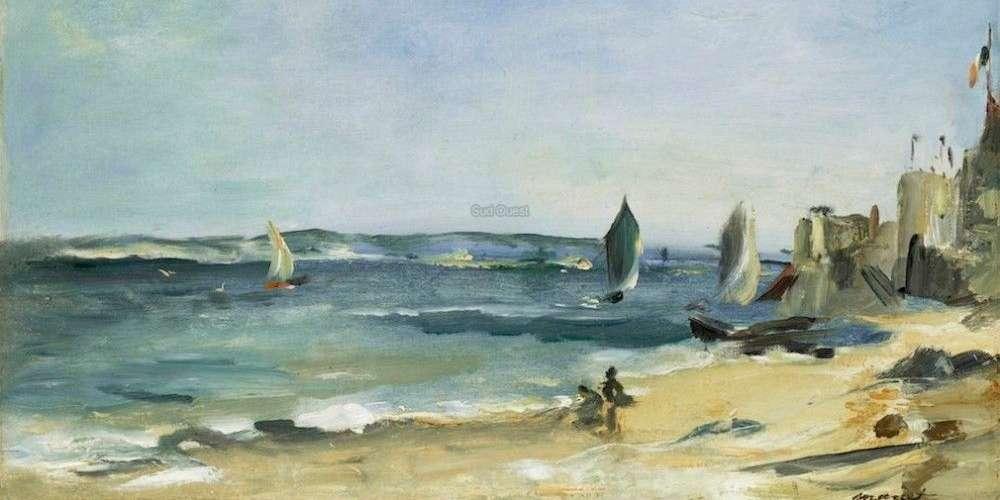 « Marine à Arcachon ou Arcachon par beau temps » - Édouard Manet - 1871