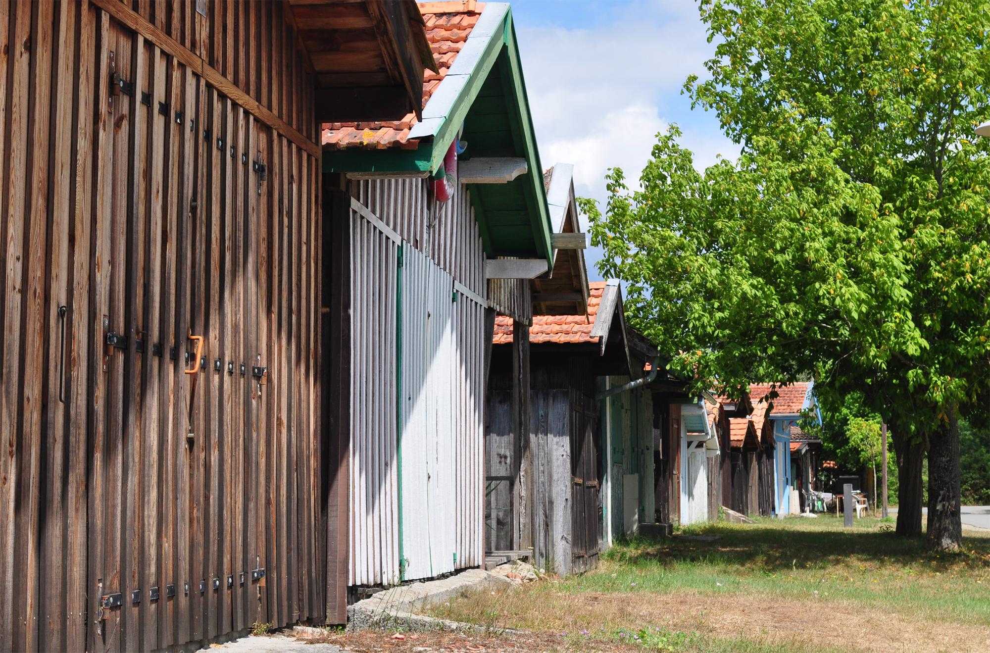 Cabanes du port des tuiles