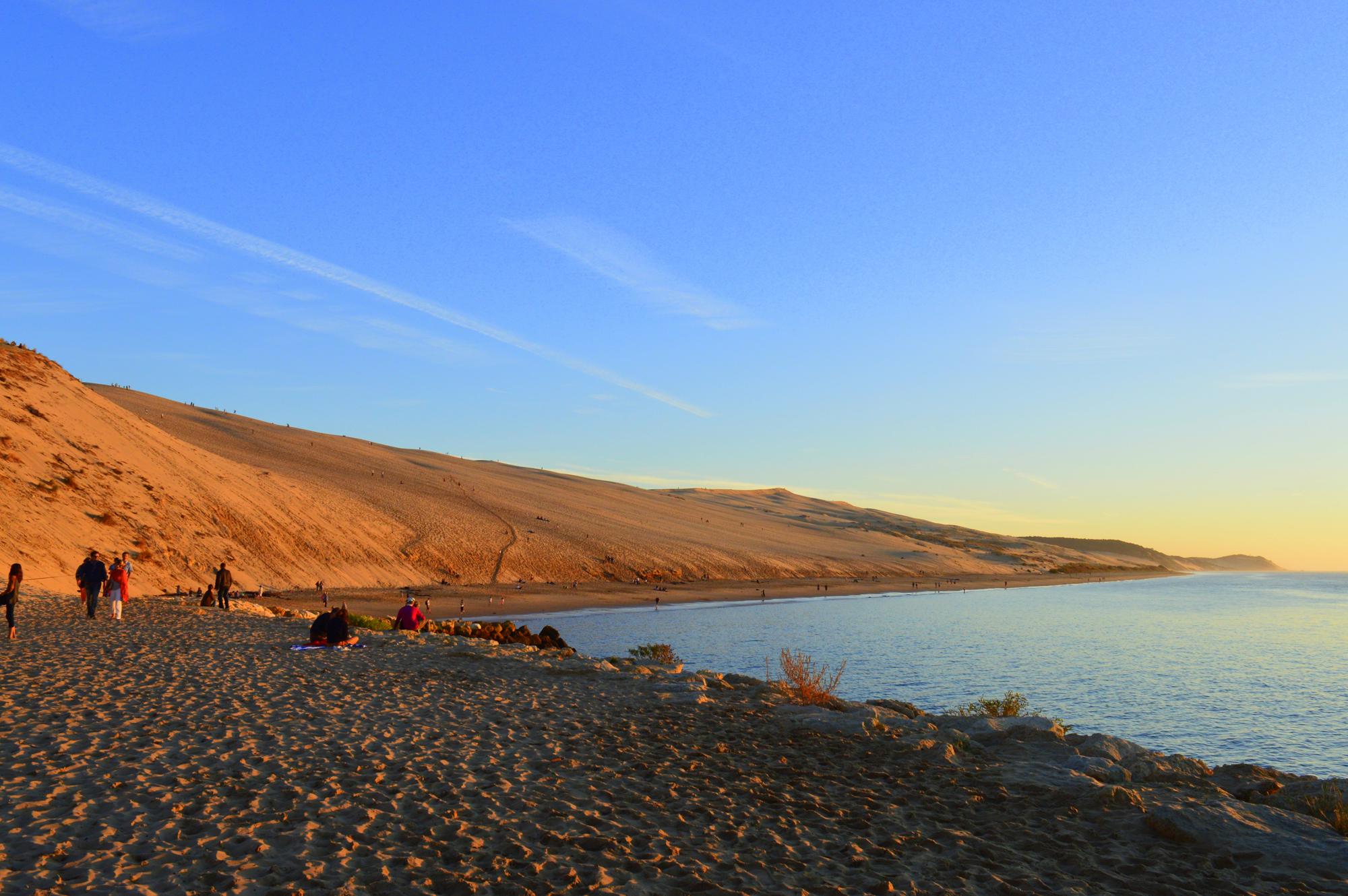 Dune du PIlat depuis la corniche