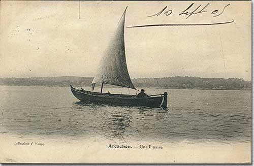 pinasse traditionnelle du bassin d'Arcachon