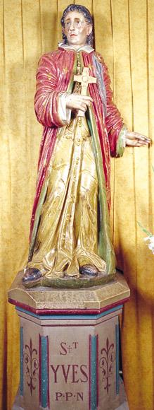 Statue de Saint Yves d'Audenge
