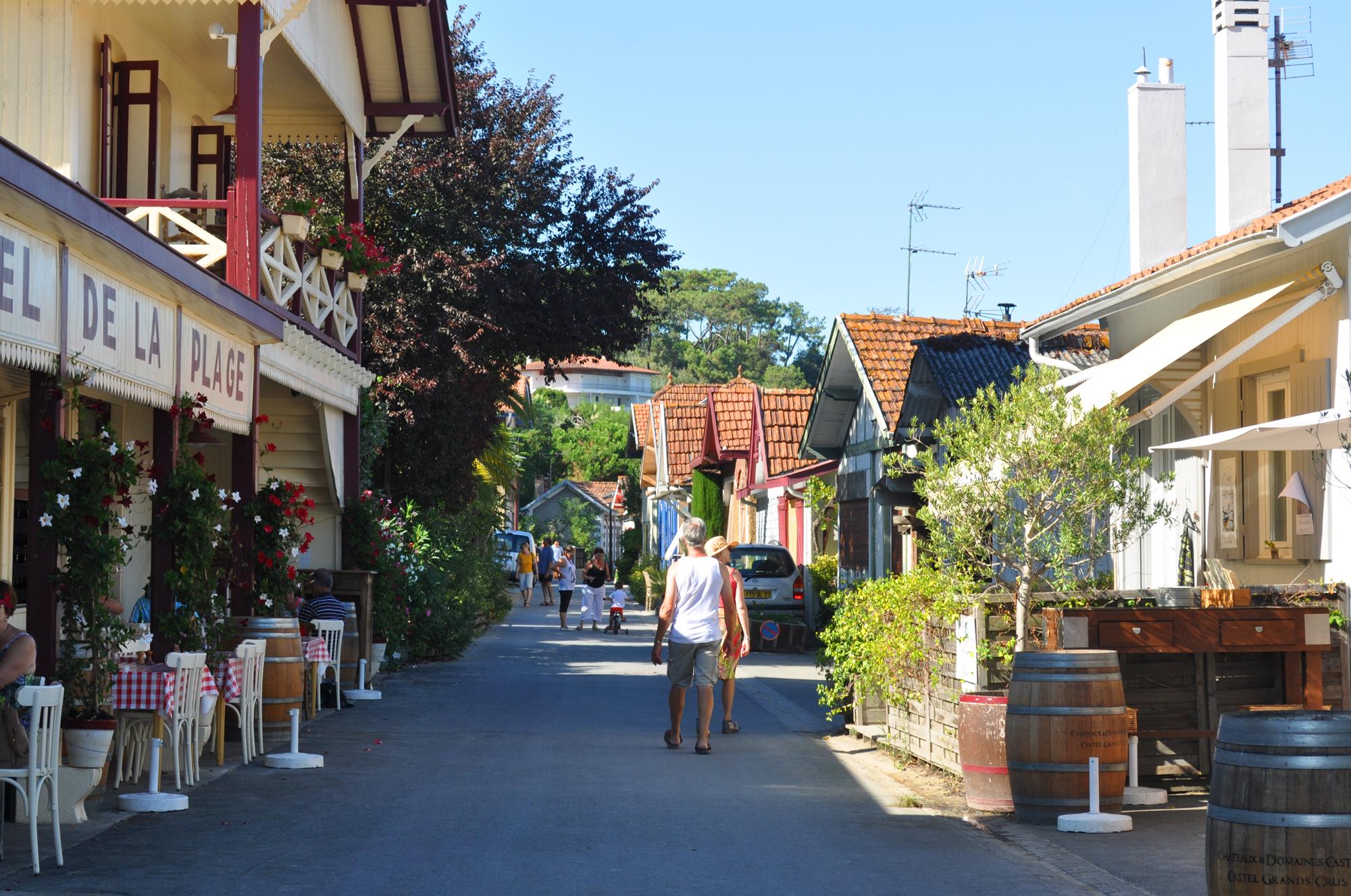 Village de l'Herbe en été