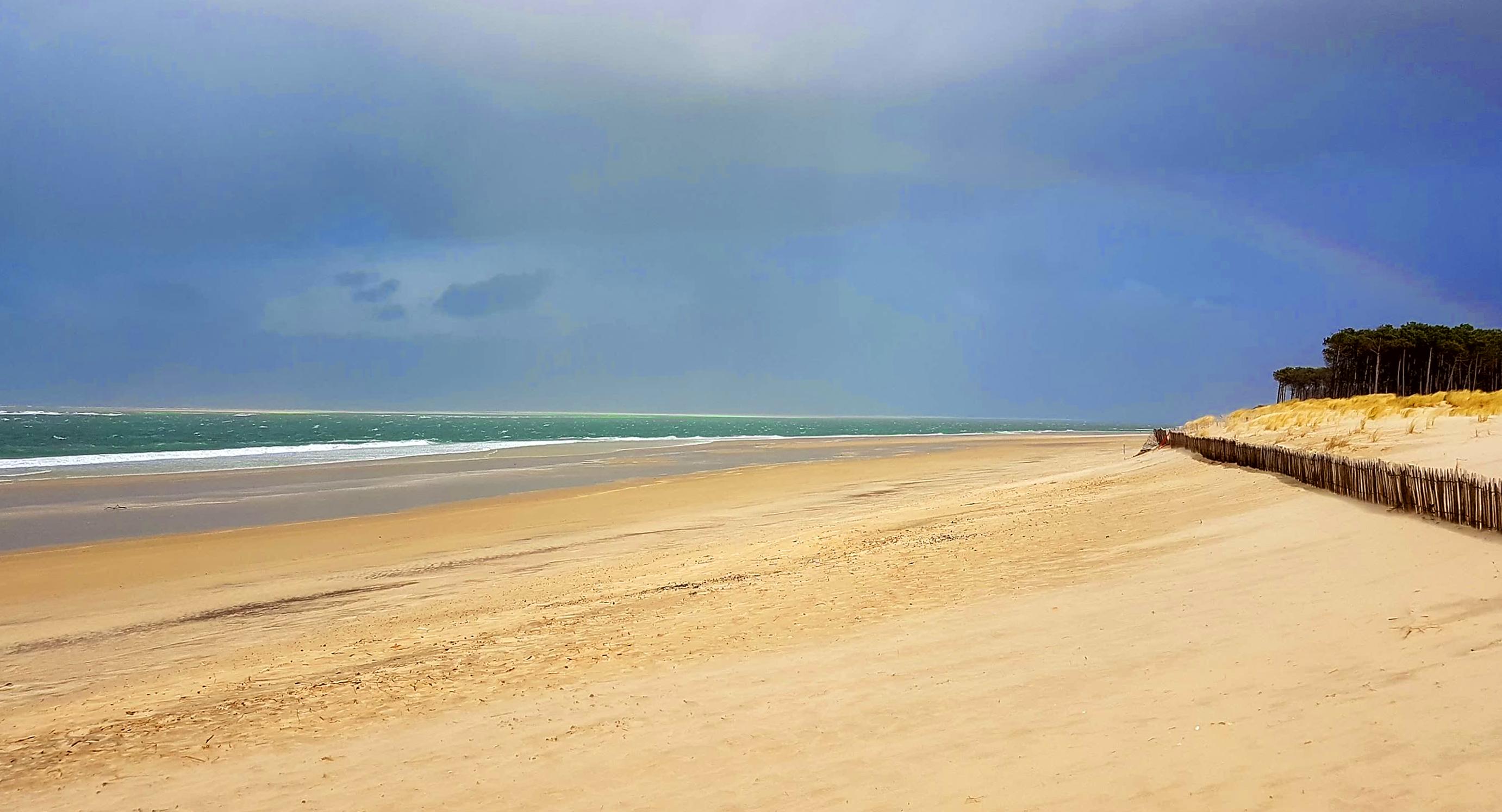 Bleu, vert et sable, les couleurs Lagune