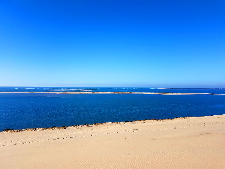 Dune du Pilat aux lumières d'hiver