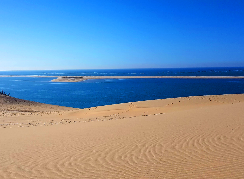 Banc d'arguin vu de la Dune côté sud