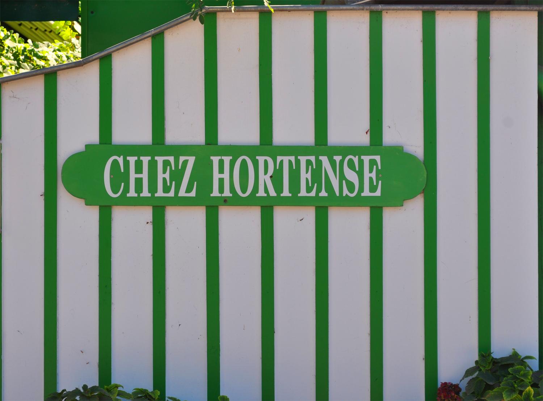 Avez-vous déjà mangé au restaurant chez Hortense au Cap-Ferret ?