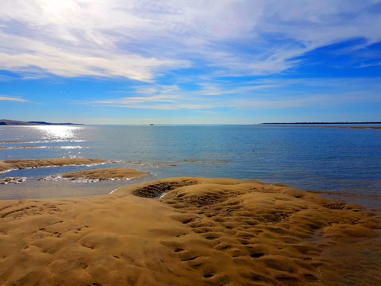 La dune vue depuis le banc de sable de Pereire