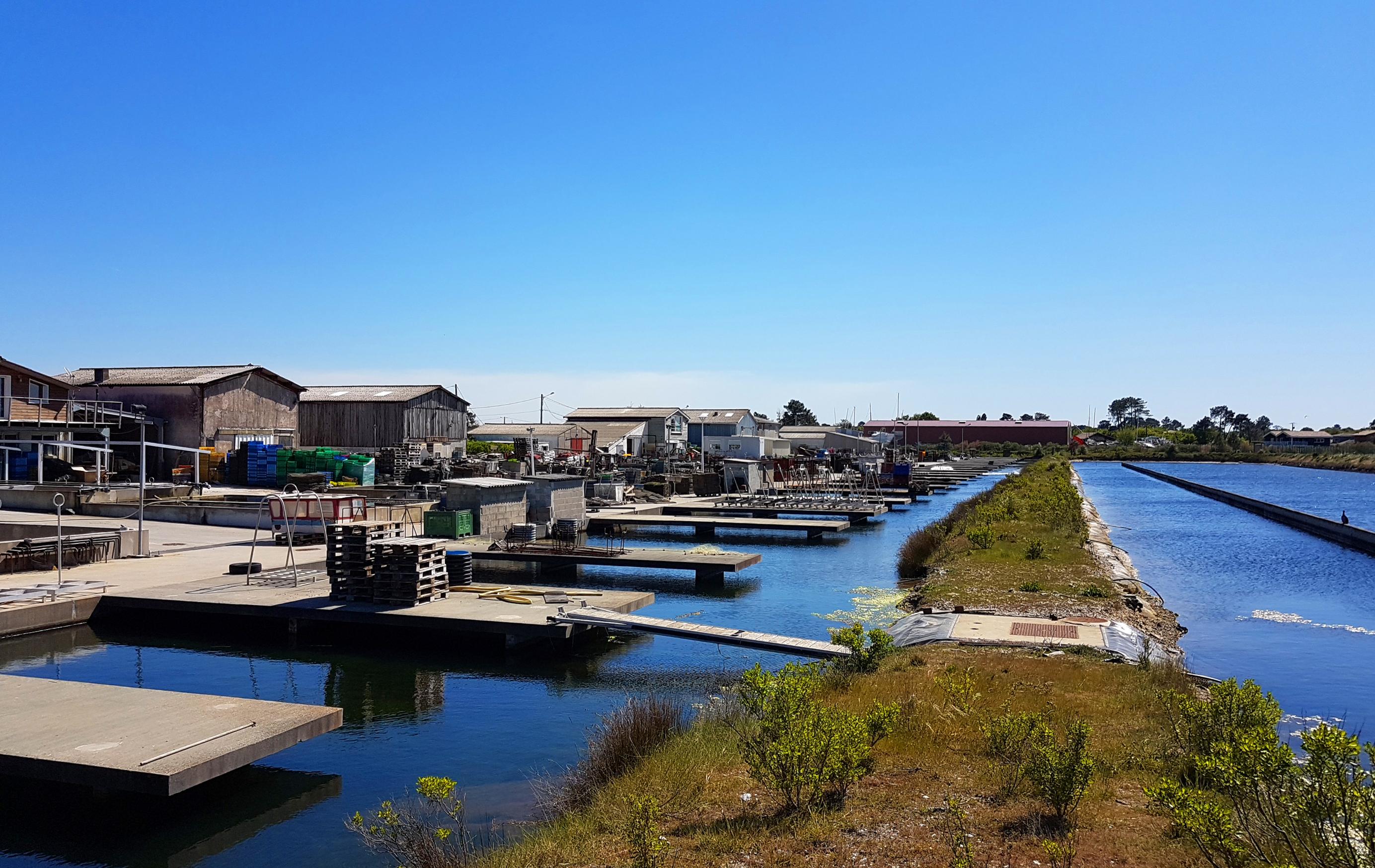 Port de Meyran à Gujan Mestras