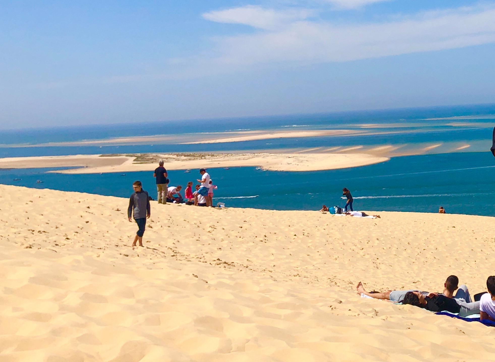 Splendide Vue sur la dune