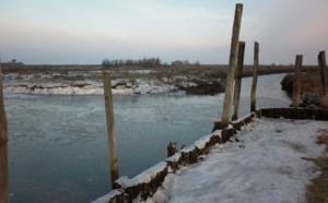 Le Bassin d' Arcachon sous le froid
