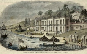 Photo de l'histoire des établissements de bains de mer à Arcachon : Hôtel de Gaillard