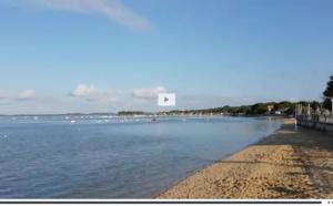Vidéo d'Andernos Les Bains, la plage et le bassin d' Arcachon