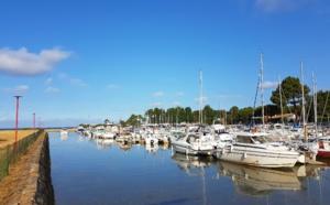 Port Taussat à marée haute