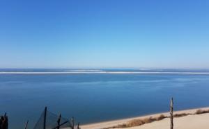 Vue panoramique depuis la dune du Pilat
