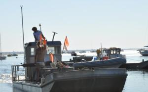 Plate (bateau) sur le bassin d' Arcachon