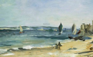 Edouard Manet peint le Bassin d'Arcachon