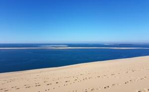 Les bleus d'hiver de la Dune du Pilat
