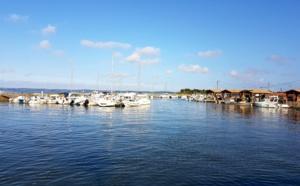 Port d'Andernos en eau