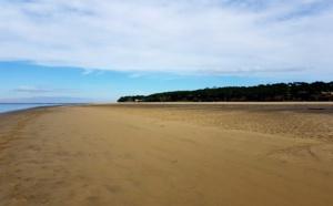 Pereire et sa plage en hiver