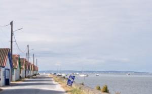 Balade près d'un port du Bassin d' Arcachon
