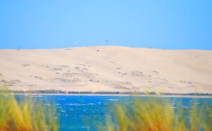 Quelques secondes sur la dune