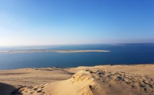 Dune du Pilat et Arguin drapés dans leurs couleurs d'hiver