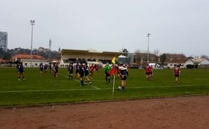 Rugby à Arcachon Sbar / Tyrosse 8 - 8