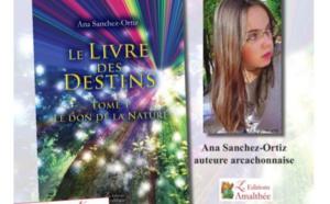 ANA SANCHEZ ORTIZ, cette arcachonnaise de 17 ans qui dédicacera son livre au salon de littérature de jeunesse