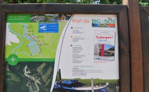 Quelques secondes au port de Biganos
