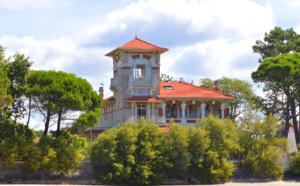 La villa la Tosca de Taussat
