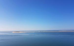 Banc d'Arguin et bleu océan