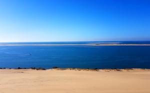 Dune du pilat et Arguin sous une météo clémente