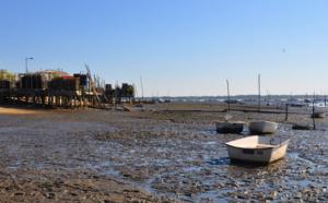 Travail mer à Claouey